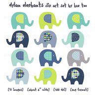 elephant clipart, cl