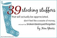 39 stocking stuffers