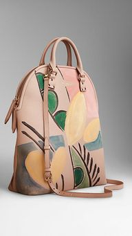 The Bloomsbury in Hand-painted Leather | Burberry