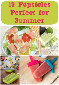 Cool Popsicles for t
