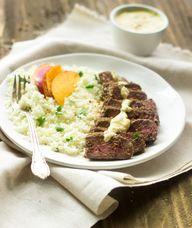 Curry Mango Steak wi...