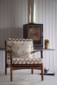 Clarke & Clarke Chooli Ebony | Textile Express | Buy Fabric Online