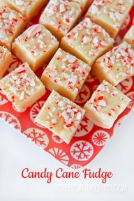 Candy Cane Fudge Rec