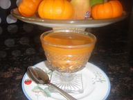 Easy PUMPKIN PUDDING * vanilla pudding mix * spices * - Cindys ON-Line recipe box