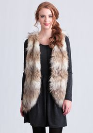 Lake Tahoe Fur Vest