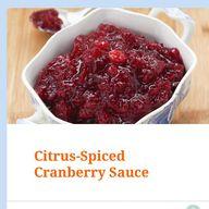 Citrus-Spiced Cranbe