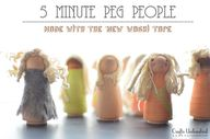 Peg Doll People with
