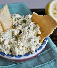 this CRAZY FETA dip