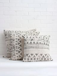 Browse our handmade boho cushions featuring exclusive Scribble Stripe pom pom cushions and authentic mudcloth cushions in a range of colours. Add boho throw pillows to beds, sofas or armchairs for the ultimate lounging experience. Matching blankets for most styles. Free UK delivery on orders over £50
