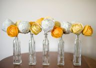 Fabric flowers by As