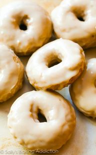 Baked Maple Donuts ~