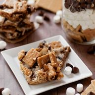 Fun, simple s'more b