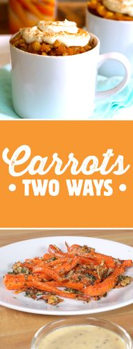 Carrots Two Ways