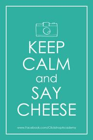 Keep Calm and Say Ch