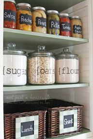 Pantry Makeover  #Or