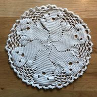 Spooky Ghost Doily