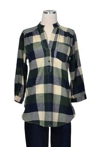 Fall Flannel Top - G