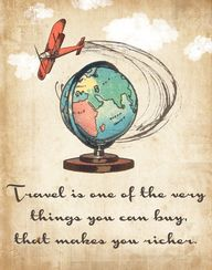 Travel is one of the