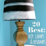 DIY Lamps & Makeover