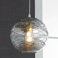 Swirling Glass Globe