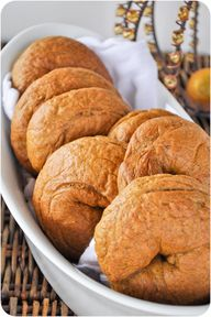 Pumpkin Bagels @Erin