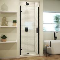 The MP is a mini hinge semi-frameless shower door made to order and manufactured in the USA. With 1/4-in thick tempered glass the MP series offers the look and feel of luxury at an affordable price. The MP door allows up to 3/16-in out of plumb adjustment and can be mounted on any surface. Available in multiple heights, finishes, and glass options to suit your needs. At Arizona Shower Door, we are just as dedicated to providing you with an exceptional shower enclosure as we are to giving you exc