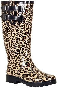 Cheetah printed rain