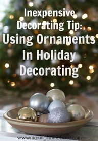 Using Ornaments to D