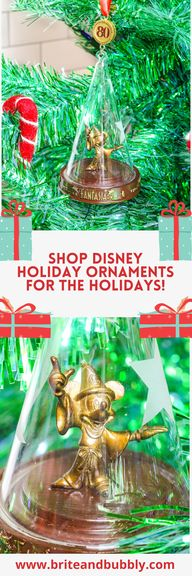 Holiday Gift Idea: Shop Disney Fantasia 80th Anniversary Legacy Sketchbook Ornament!