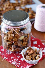 Gingerbread Chex Mix