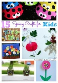 15 Spring Crafts For
