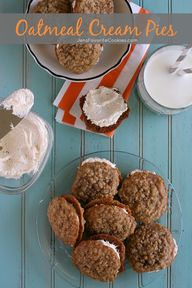 Oatmeal Cream Pies f