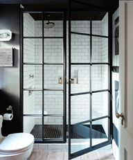 love the shower door