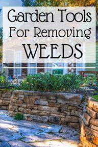 Garden tools for removing weeds on your homestead. #gardentoolsforremovingweeds #gardentools #gardeningtools #homesteadingforwomen