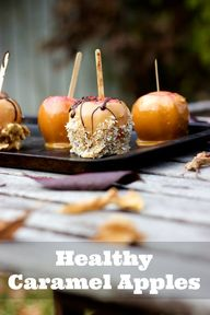 Healthy Caramel Appl