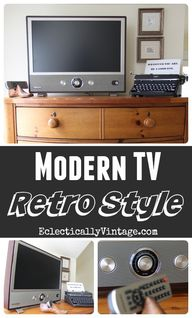 Love this Crosley TV