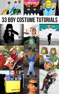 33 costume tutorials