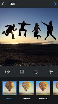 Android版「Instagram」ア