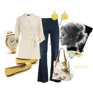 Yellow & White, crea