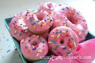 Pink Sprinkle Donuts