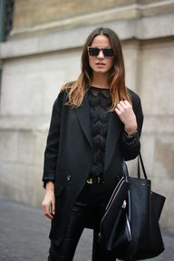 Bag: Celine, Blazer: