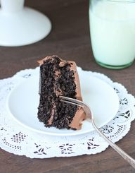 Chocolate quinoa cak