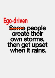 Ego's goal is precis...