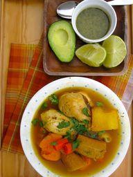 Colombian Chicken So