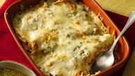 Enjoy chilaquiles in