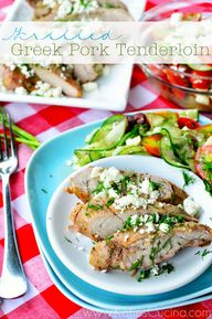 Grilled Greek Pork T
