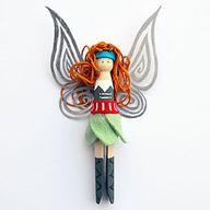 DIY Peg Doll Pirate