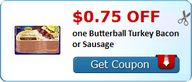 $0.75 off one Butter