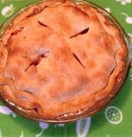Perfect fall apple pie. This Betty Crocker recipe has been made in my home for more than 40 years and never failed me.