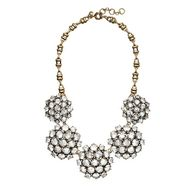 Crystal rosette neck
